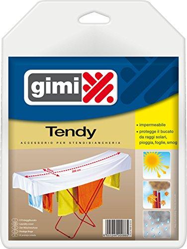 Gimi Tendy - Protector para tendedero (2 m, PVC), color azul claro