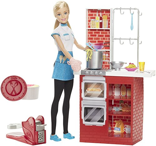 Chef Barbie Restaurant Cuisine le Spaghetti - 5