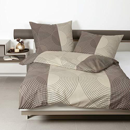 Janine Design Feinbiber Bettwäsche Davos 65074-07 1 Bettbezug 140 x 200 cm + 1 Kissenbezug 70 x 90 cm