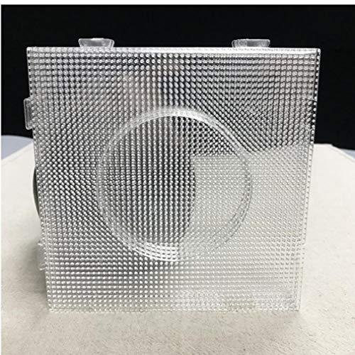 DierCosy Tools Mini Granos del Fusible Hama Transparente 2.6mm Cuadrado Grande de Juntas tableros Plantilla Perler Beads Pared Perforada artkal 4PCS