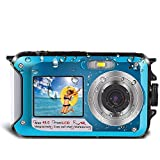 Best Waterproof Cameras - Underwater Camera for Snorkeling, Waterproof Camera, 2.7K 48MP Review