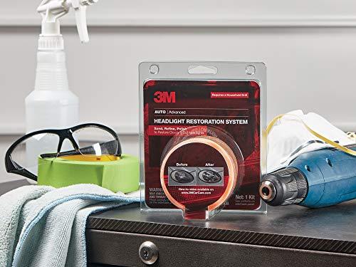 3M 39008 Headlight Lens Restoration System 336/89/4