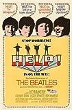 The Beatles Help – U.S Movie Wall Art Poster Print –