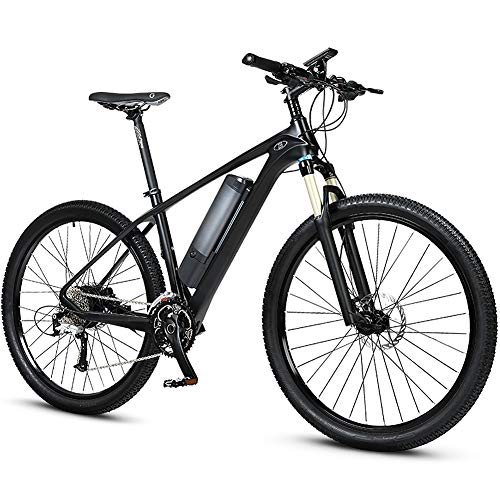 27.5-Inch Carbon Fiber Bicycle, Electric Mountain Bike, 3.5-Inch LCD Screen and 200Km Super Long Battery Life, The Best Choice for Adult Men