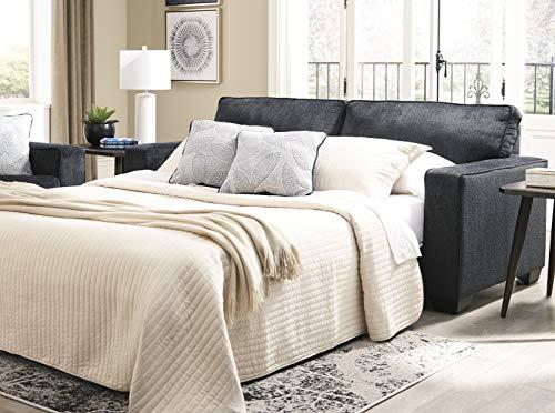 Signature Design by Ashley - Altari Modern Queen Sofa Sleeper, Slate Gray
