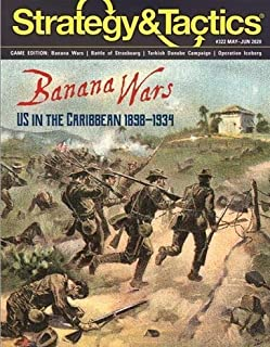 DG: Strategy & Tactics Magazine #322 with Banana Wars, US Interventions inthe Caribbean 1898-1935, Boardgame