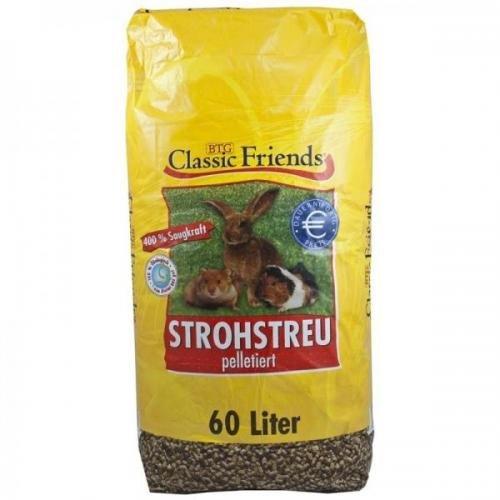 Classic Friends Strohstreu 60 l, Späne, Kleintierstreu