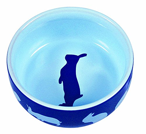 TRIXIE TX-60733 Ceramic Bowl for Rabbit 250 ML 11 cm