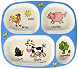BPA free, Drop-proof and dishwasher safe Not microwavable, made from melamine Whimsical drawings with the French word Color: Multicolor From the Brand: Baby Cie
