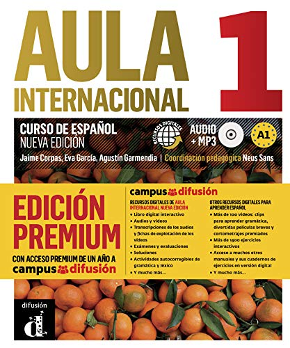 Aula Internacional Nueva Edición 1 Premium libro del alumno + CD: Aula Internacional Nueva Edición 1 Premium libro del alumno + CD (ELE NIVEAU ADULTE TVA 5,5%)