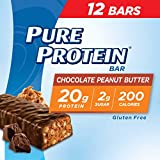 Pure Protein Bars, High Protein, Nutritious Snacks to Support Energy, Low Sugar, Gluten Free,...