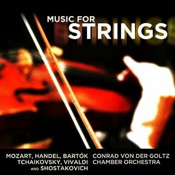 Music For Strings: Tchaikovsky, Vivaldi, Mozart, Handel, Bartók And Shostakovich