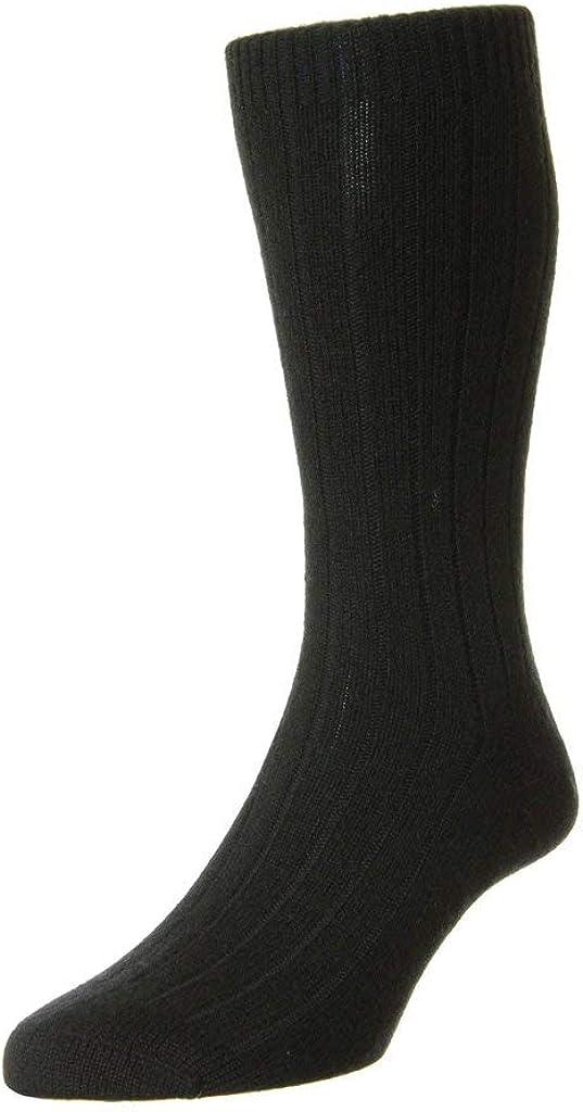 Pantherella Waddington Cashmere Mid-Calf Men's Dress Socks (5750)