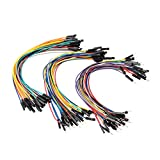 SIM&NAT 8inch / 20cm Male to Female Dupont Wire, Male to Male, Female to Female Breadboard Jumper Wire Ribbon Cables kit for Arduino Raspberry Pi 2/3 (90 PCS)