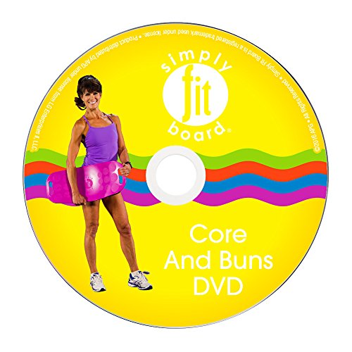 Simply Fit- Core & Buns Workout DVD, 6 Workouts That are Great for Getting Those 6 Pack Abs & Tighter Buns