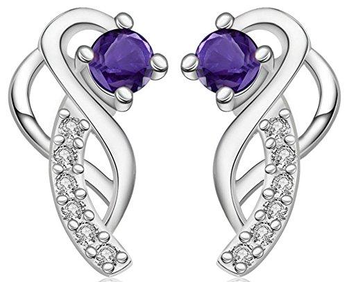 SaySure - 925 silver earring for women brincos de prata PCE499