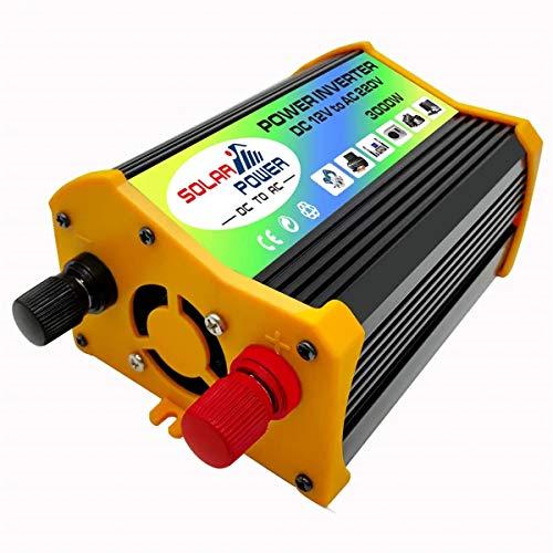 N\A Coche inversor de energía Inversor de la energía del Coche del Barco convertidor USB inversor inversor Solar 3000W DC12V A CA 220V