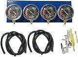 Szlsl88 Moto Jauge de Reniflard, Moto Carburateur Synchroniseur Balancier, Moto Testeur Accessoire