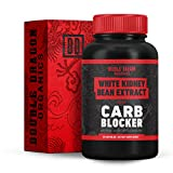 White Kidney Bean Extract - 100% Pure Carb Blocker - Keto Carb Blocker- Double Dragon Organics (60 Caps / 600MG)