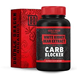 powerful Navy Bean Extract – 100% Pure Carb Blocker – Keto Carb Blocker – Double Dragon Organics…