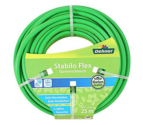 Dehner Stabilo Flex tuinslang 25 m, 1/2 Zoll groen