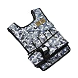 CROSS101 Arctic Camouflage Adjustable Weighted Vest (60lbs)