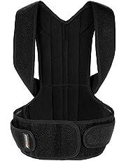 Festnight Back Posture Corrector Brace Clavicle Shoulder Corrector Strap Adjustable Splint Shoulder Upper Lower Back Relief Support Brace Strap