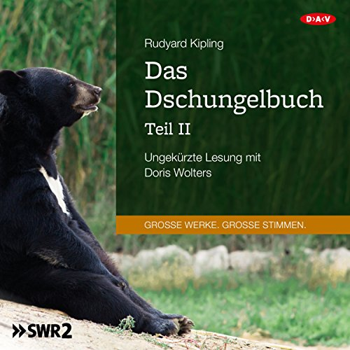 Das Dschungelbuch 2                   By:                                                                                                                                 Rudyard Kipling                               Narrated by:                                                                                                                                 Doris Wolters                      Length: 5 hrs and 22 mins     Not rated yet     Overall 0.0