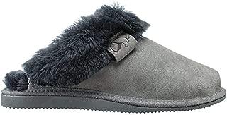 ESTRO Sheepskin Womens Slippers Ladies Wool - Leather Mule Boots Slides Warm Fleece Fur Fluffy Booties Intimo