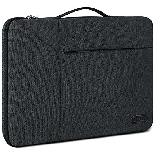 NUBILY 14 inch Laptop Sleeve Bag Case 13.3 inch Waterproof Shock Resistant Portable Handle Laptop Bag Compatible with 13' MacBook Air2014-2019,13.3-14 inch Toshiba/FUJITSU /HP/Dell/Asus Notebook