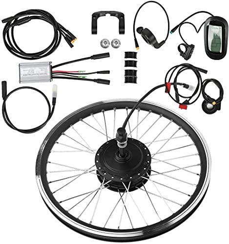 ZYXU Kit De Conversión De Bicicleta Eléctrica, 36V250W 20'24' 26'28' 29'700C Kit De Conversión De Bicicleta Eléctrica KT-LCD6 Kit Eléctrico Impermeable De Conversión Kit,Rear Engine,24'