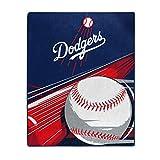 MLB Los Angeles Dodgers 'Big Stick' Raschel Throw Blanket, 50' x 60'