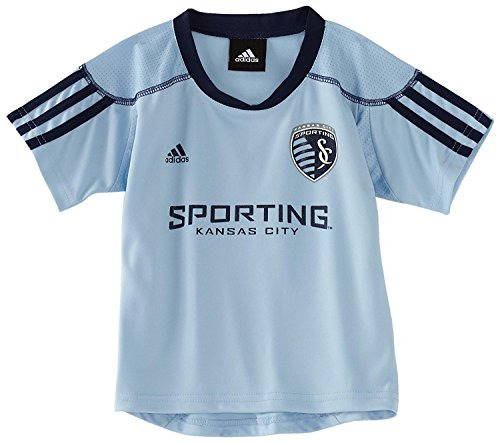 Outerstuff Sporting Kansas City Youth Home Light Blue Call Up Jersey (Large 14/16)