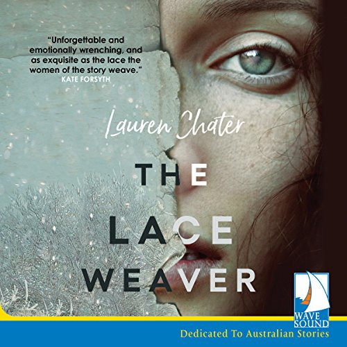 The Lace Weaver audiobook cover art