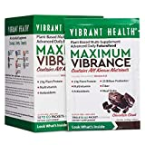 Vibrant Health - Maximum Vibrance, Plant-Based Meal Replacement Rich with Vitamins, Minerals, Antioxidants,...