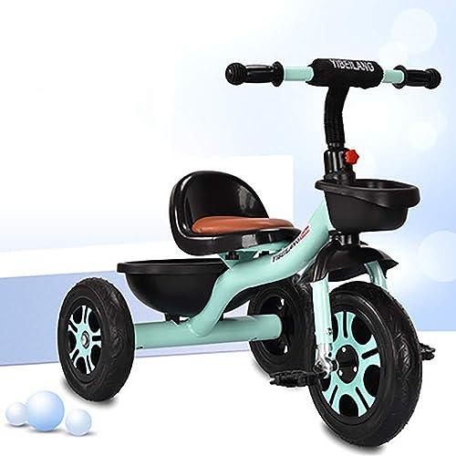 conveniente Moolo Triciclo Triciclo Triciclo para Niños, Triciclo, Triciclo para Niños, Diseño Inteligente, 3 Ruedas, Niños pequeños, Andar en Pedal, Estructura de Metal, de 18 Meses a 5 años.  hasta un 70% de descuento