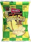 Herr's Fire Roasted Sweet Corn Potato Chips Pack of 3 -7.5 oz bags