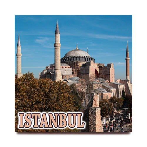 Hagia Sophia quadratisch Kühlschrank Magnet Istanbul Türkei Travel Souvenir