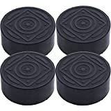 [UPGRADED] Non-Slip, Anti-Walk and Anti-Vibration Pads for Washers & Dryers by BlueStars - Non-Marking One Size Fits All - Best for Laundry Washer & Dryer Noise Reduction - SET OF 4