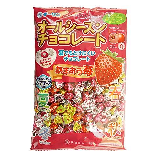 チーリン製菓 あまおう苺オールシーズンチョコ 340g