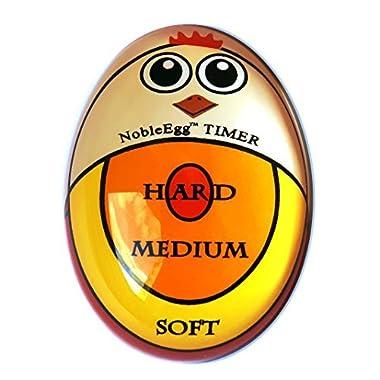 Egg Timer Egg Piercer Set | Hard Boiled Egg Timer and Egg Piercer Prevents Egg Shell Cracking | Non-toxic Egg Timer, BPA, BPS, BPF Free, Certified