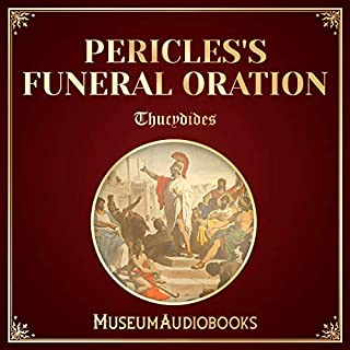 Pericles's Funeral Oration audiobook cover art