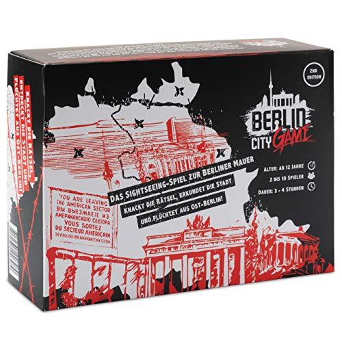 Berlin City Game - das Sightseeing Escape Game zur Berliner Mauer, Deine City-Tour durch Berlin