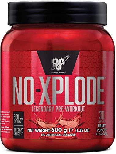 BSN N.O.Xplode Formula Pre-Workout Booster per il Consumo Prima Dell'Allenamento, Mix di Frutta, 0.6 kg, 30 Porzioni