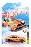 Hot Wheels 2019 Speed Blur 2018 Ford Mustang GT 113/250, Orange