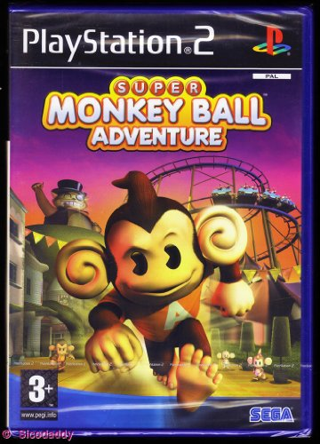Super Monkey Ball Adventure (PS2) [Importación inglesa]