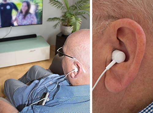 Hydas Hörverstärker Smart Ear mit Tasche, keine APP oder Batterie notwendig