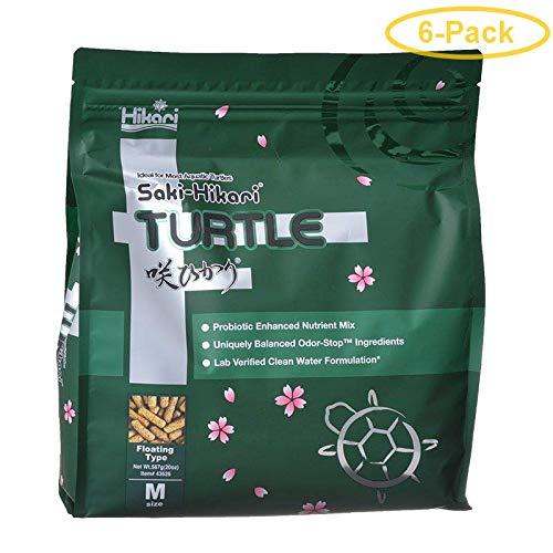 HIKARI Saki Turtle Food 20 oz - Pack of 6