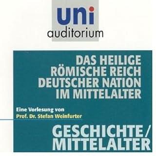 Das heilige Römische Reich Deutscher Nation im Mittelalter Titelbild