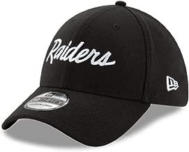 New Era Oakland Raiders Team Classic CC Script 39THIRTY Flex Hat